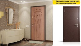 Входные двери Бульдорс-24, Высокая степень защиты при эстетичном внешнем виде